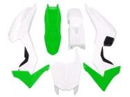 Kit plastique - Type CRF110 - Vert