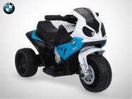 Moto électrique enfant KINGTOYS - BMW 1000RR 18W - Bleu