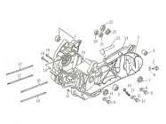 FIG. 15 - Carters moteur