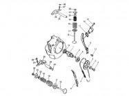 FIG. 01 - Soupapes - Arbre à cames - Distribution