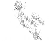 FIG. 03 - Vilebrequin - Cylindre - Piston
