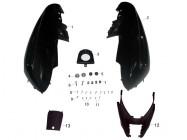 N°1 - Carénage arrière droit - Noir