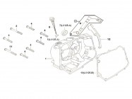 N°1 - Carter d'embrayage - 125cc