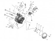 N°1 - Culasse - 500cc