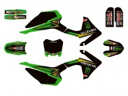 Kit déco N'STYLE / MONSTER - Type CRF110 - Vert