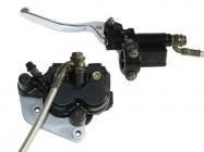 Kit frein avant - Double piston - Noir