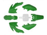 Kit plastique - Type CRF50 - Vert