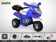 Moto électrique enfant KINGTOYS - Craper 20W - Bleu
