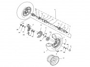 N°24 - Moyeu de roue avant