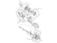 N°4 - Moyeu de roue arrière