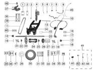 N°47 - Plaquette de frein arrière