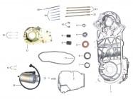 FIG. 04 - Carter moteur - Démarreur