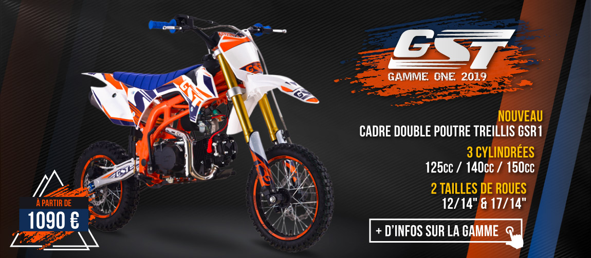 Gamme Pit Bike GST ONE 2019
