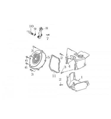 N°10 - Axe de came de frein AR