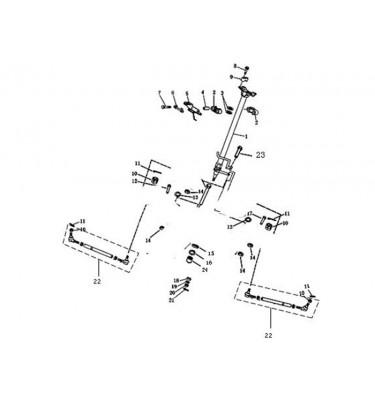 N°22 - Biellette de direction