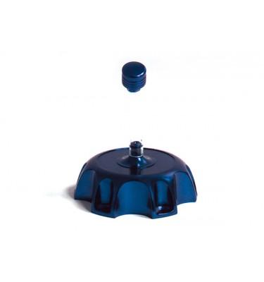 Bouchon de réservoir alu - Bleu