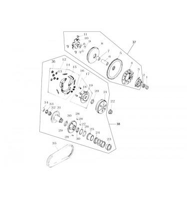 N°7 - Entretoise de variateur