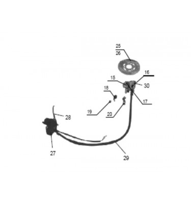 N°27 - Maître-cylindre de frein avant