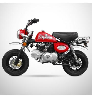 Moto MONKEY 125 - SKYTEAM - Rouge