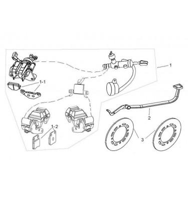 N°2 - Pédale de frein arrière