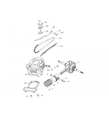 N°14 - Tendeur chaîne de distribution