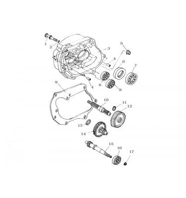 FIG. 10 - Arbres de transmission