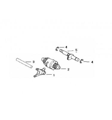 FIG. 12 - Fourchette - Barillet