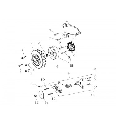 FIG. 07 - Stator - Pompe à huile