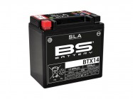 Batterie SLA BTX14-BS / YTX14-BS - BS BATTERY
