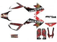 Kit déco GUNSHOT 2013 - Type CRF50