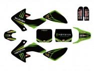 Kit déco N'STYLE / MONSTER - Type CRF50 - Vert