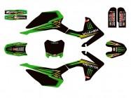 Kit déco N'STYLE / MONSTER - Type CRF110 - Vert