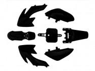 Kit plastique - Type CRF50 - Noir
