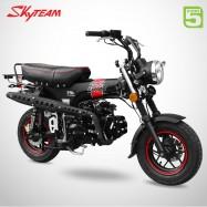 Moto DAX 125 - SKYTEAM - Black Edition - Noir Mat