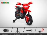 Moto électrique KINGTOYS - Cobra 18W - Rouge