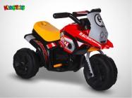 Moto électrique KINGTOYS - Sliper 18W - Rouge / Jaune