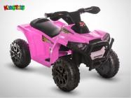 Quad électrique enfant KINGTOYS - Bison 20W - Rose