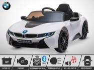 Voiture électrique KINGTOYS - BMW I8 70W - Blanc