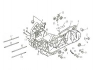 FIG. 22 - Carters moteur