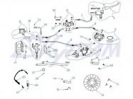 FIG.19 / Freinage Dax 125cc
