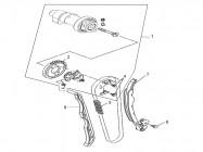N°1 - Arbre à cames complet - 500cc