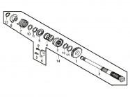 N°14 - Arbre de kick - 50cc