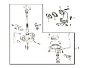 N°3 - Joint de pipe d'admission - 50cc