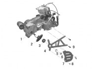 N°1 - Moteur 250cc