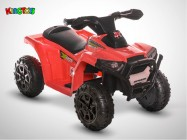 Quad électrique enfant KINGTOYS - Bison 20W - Rouge