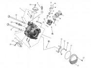 N°23 - Raccord de pipe d'admission - 700cc