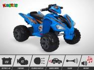 Quad électrique enfant KINGTOYS - Varox 70W - Bleu