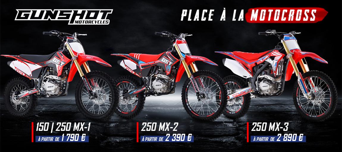 Gamme Motocross Bike GUNSHOT MX 2021